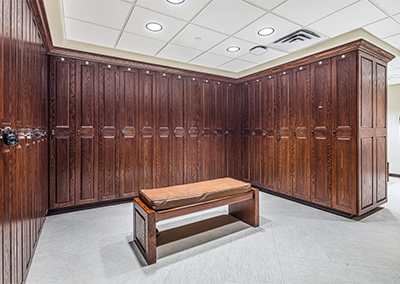 University Hospital OR Locker Room