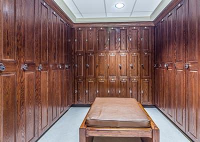 University Hospital OR Locker Room